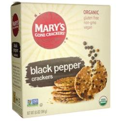 Mary's Gone Crackers Organic Crackers - Black Pepper
