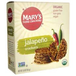 Mary's Gone CrackersOrganic Crackers - Hot n' Spicy Jalapeno
