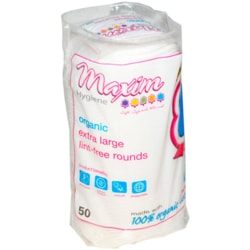 Maxim Hygiene ProductsOrganic Extra Large Lint-Free Rounds