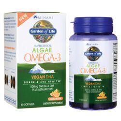 Minami NutritionSupercritical Algae Omega-3 Vegan DHA - Orange Flavor