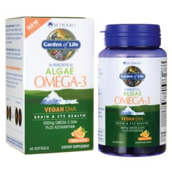 Minami NutritionSupercritical Algae Omega-3 Vegan DHA - Orange Flavor