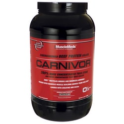 MuscleMedsCarnivor Beef Protein Isolate Chocolate