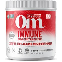 Organic Mushroom NutritionImmune - Certified 100% Organic Mushroom Powder