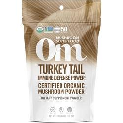 Organic Mushroom NutritionTurkey Tail - Certified 100% Organic Mushroom Powder