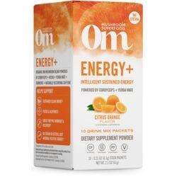 Organic Mushroom NutritionNRG Energy with Cordyceps and Reishi - Citrus Orange