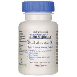 MediNaturaCold & Sore Throat Relief
