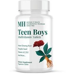 Michael's Naturopathic Programs Teen Boys Tabs Daily Multi Vitamin