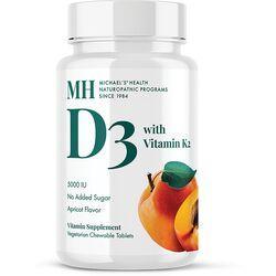 Michael's Naturopathic ProgramsVitamin D3 with Vitamin K2 - Natural Apricot Flavor