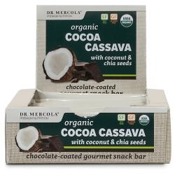 Dr. MercolaOrganic Cocoa Cassava with Coconut & Chia Seeds