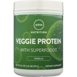 MRM100% All Natural Veggie Protein with Superfoods - Vanilla