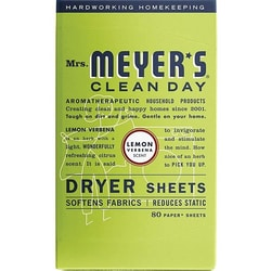 Mrs. Meyer'sClean Day Dryer Sheets - Lemon Verbena