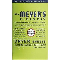 Mrs. Meyer's Clean Day Dryer Sheets - Lemon Verbena
