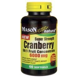 Mason NaturalSuper Strength Cranberry