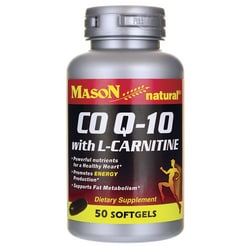 Mason NaturalCoQ10 with L-Carnitine