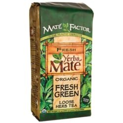 Mate Factor Organic Yerba Mate Fresh Green Loose Tea