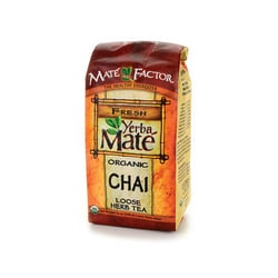 Mate Factor Organic Yerba Mate Chai Loose Tea