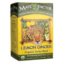Mate FactorOrganic Yerba Mate Lemon Ginger Tea