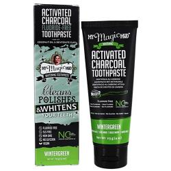 My Magic MudActivated Charcoal Toothpaste - Wintergreen