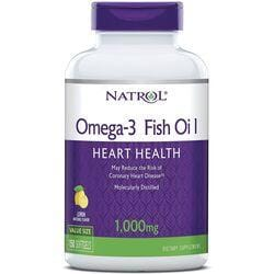 NatrolOmega-3 Fish Oil - Lemon