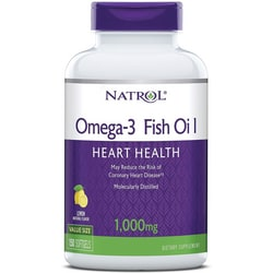 NatrolOmega-3 Fish Oil - Lemon Flavor