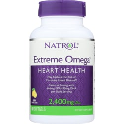 NatrolExtreme Omega Fish Oil Lemon Flavored