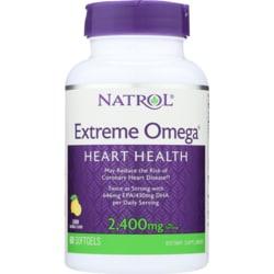 Natrol Extreme Omega Fish Oil Lemon Flavored