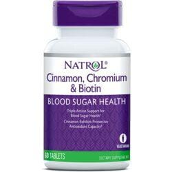 NatrolCinnamon Biotin Chromium