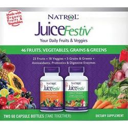 Natrol JuiceFestiv Fruit & Veggie Super Food