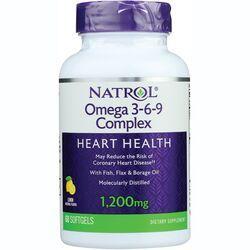 NatrolOmega 3-6-9 Complex Lemon