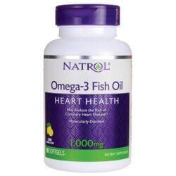 NatrolOmega-3 Fish Oil - Lemon