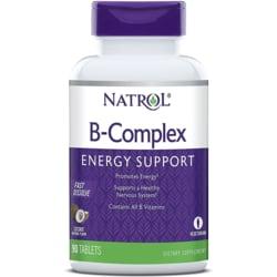 Natrol B-Complex Fast Dissolve - Coconut Flavor
