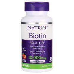 NatrolMaximum Strength Biotin Fast Dissolve - Natural Strawberry