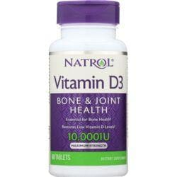NatrolVitamin D3 - Maximum Strength