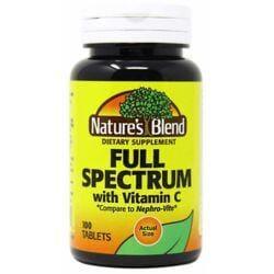 Nature's BlendFull Spectrum B with Vitamin C