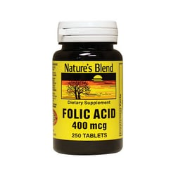 Nature's BlendFolic Acid 400 mcg