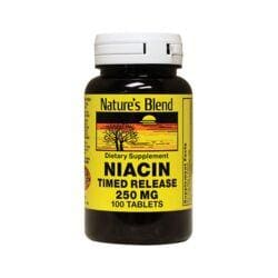 Nature's BlendNiacin Timed Release 250 mg