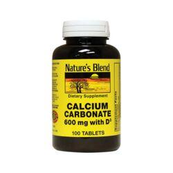 Nature's BlendCalcium Carbonate with Vitamin D3