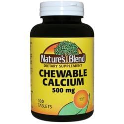 Nature's Blend Calcium Chewable Bavarian Cream