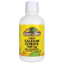 Nature's BlendLiquid Calcium Citrate with D3 - Blueberry
