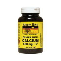 Nature's BlendOyster Shell Calcium with Vitamin D3