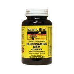Nature's BlendGlucosamine MSM Complex and Collagen Type II