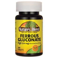 Nature's BlendFerrous Gluconate