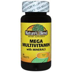 Nature's BlendMega Multivitamin with Minerals