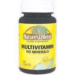 Nature's BlendMultivitamin No Minerals