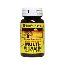 Nature's BlendMulti-Vitamin No Minerals
