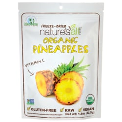 Nature's All Foods Organic Freeze Dried Pineapple