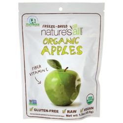 Nature's All Foods Organic Freeze-Dried Apples