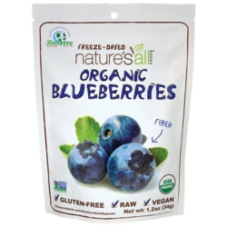 Nature's All FoodsOrganic Freeze-Dried Blueberries