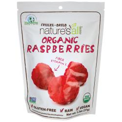 Nature's All FoodsOrganic Freeze-Dried Raspberries