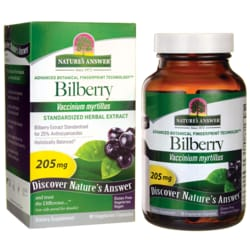 Nature's Answer Bilberry Extract